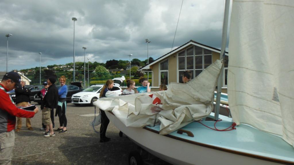 hoisting sails