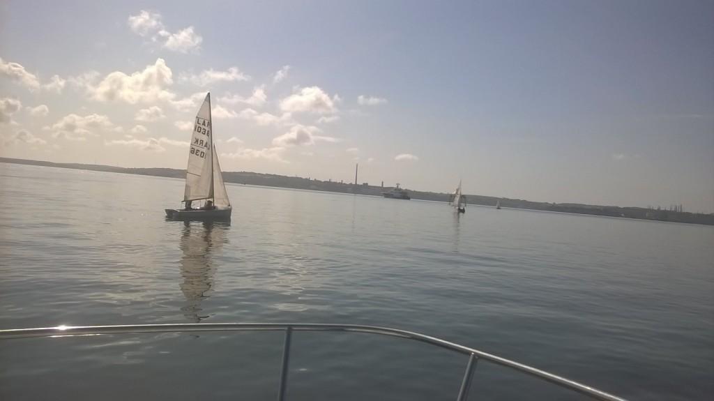 Flat calm off Cobh