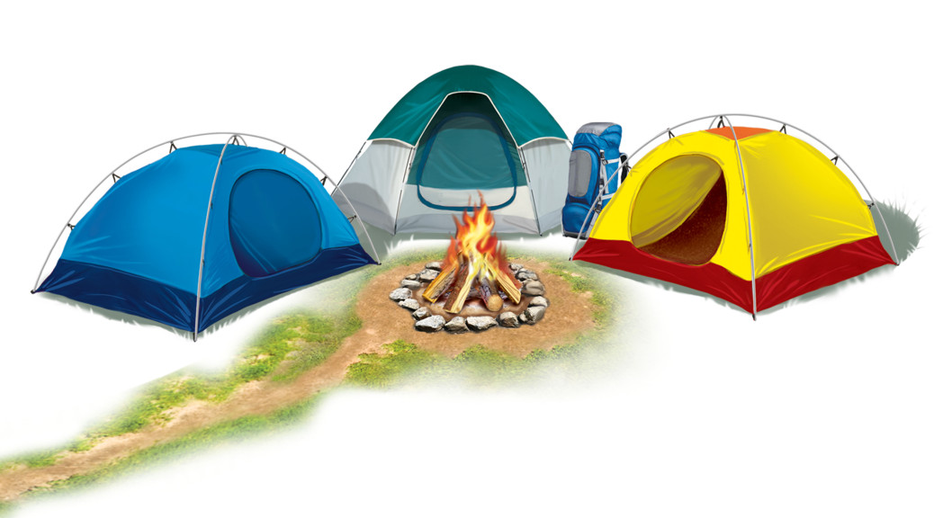 Kids Camping Clipart Dromfib Top Scouts
