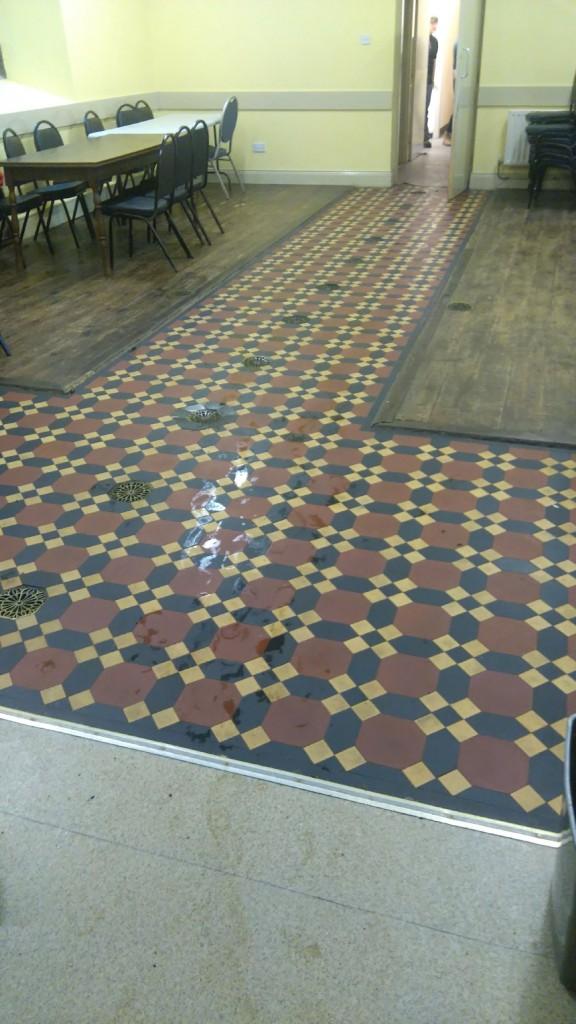 Slime floor